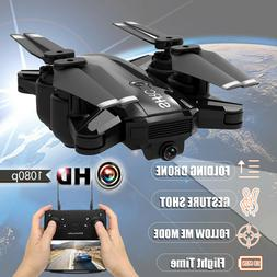 2019 Foldable RC Drone HD Camera SHRC 1080P Selfie WIFI FPV