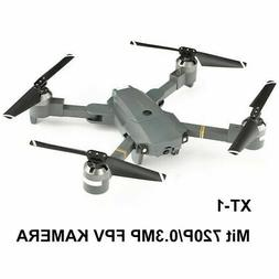 25 Mins Flying Foldable RC Drone KY601S 2.4Ghz 4CH 6-Axis Wi
