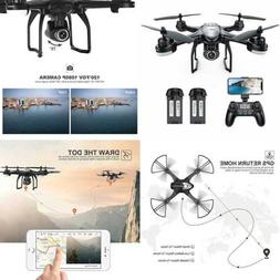 Potensic T18 GPS FPV RC Drone with Camera Live Video and GPS