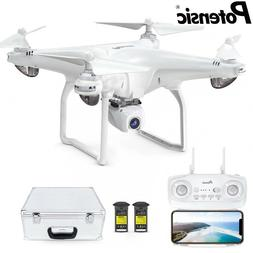 Potensic D58 FPV Drone with Carry Case 1080P HD Camera 5G Wi