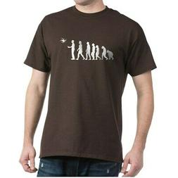 CafePress Drone Evolution Dark T Shirt 100% Cotton T-Shirt