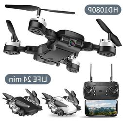 Drone Selfie WIFI FPV GPS With 1080P HD Camera Foldable RC Q
