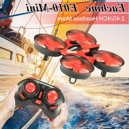 Eachine E010 Mini 2.4G 4CH 6 Axis Headless Mode RC Drone Qua