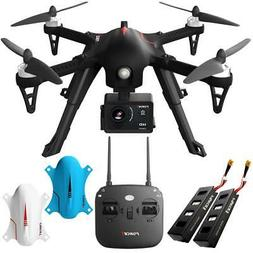 Force 1 F100 RC Brushless Motor 1080 HD Drone with Extra Bat