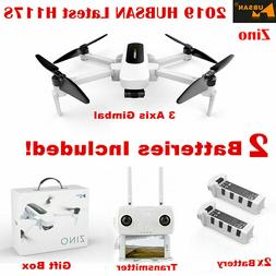 Hubsan Folable Drone Zino H117 Wifi Quadcopter 4K Cam GPS 3A