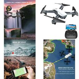 Gps Drones, Potensic D50 Quadcopter With Camera Live Video,G