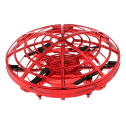 Hand UFO Ball Flying Aircraft RC Toy Led Gift Mini Drone For