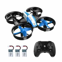 HS210 Mini Drone for Kids Beginners RC Nano Quadcopter Indoo