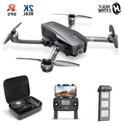Holy Stone HS720 Foldable RC Drone with 2K HD Camera 5G Brus