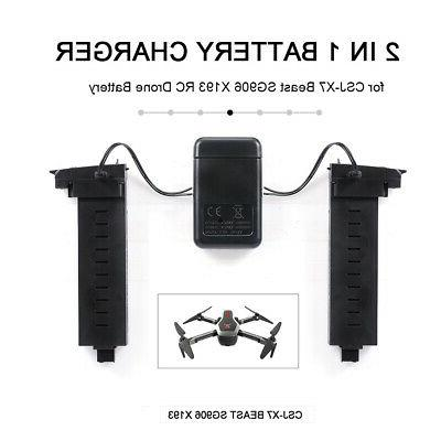 2in1 drone battery charger for csj x7
