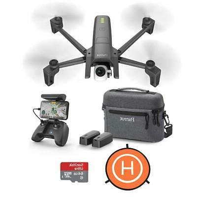 anafi 4k portable drone ext combo pack