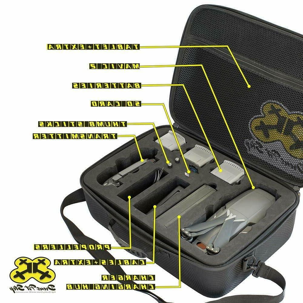 Case 2 Pro/2 Fly More Combo Drone Fit