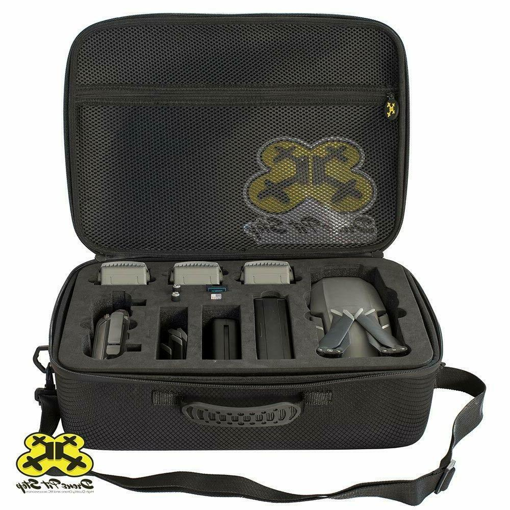 Case DJI 2 Pro/2 Zoom More Drone Fit Batteries & Accessories