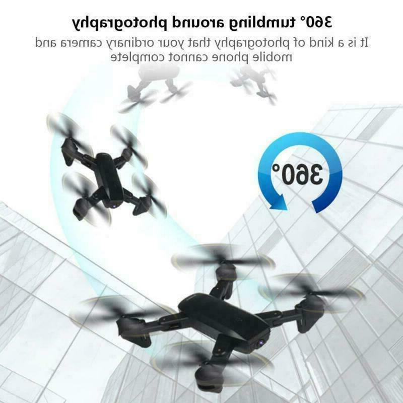 Cooligg Quadcopter With HD Selfie FPV RC Batteries