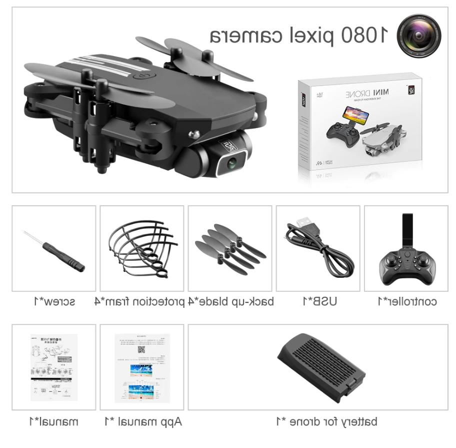 Drone 4K Foldable Quadcopter 1080
