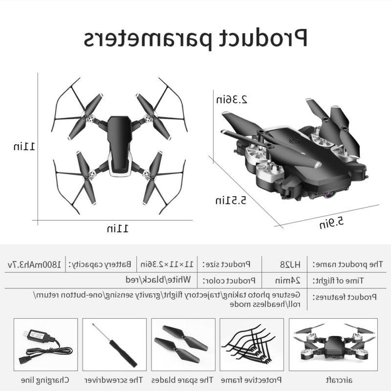 Drone Quadcopter Wide-Angle