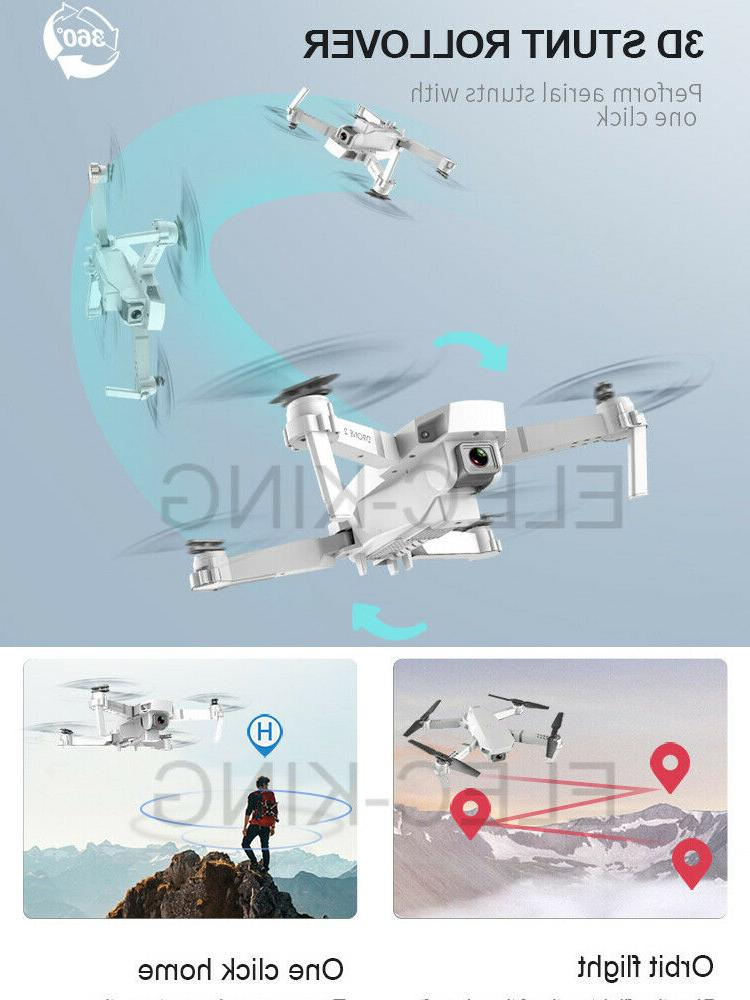 Cooligg Wifi Drone Foldable Selfie 1080P Toy