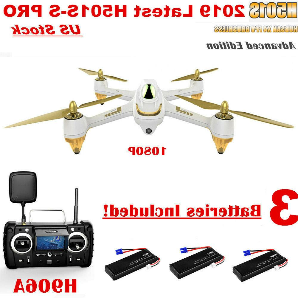 Hubsan H501S S PRO X4 FPV Drone 5.8G Brushless 1080P RTH GPS