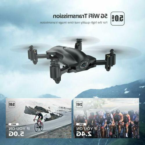 Holy Stone FPV rc Drone with HD Camera 5g Quadcopter GPS follow