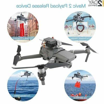mavic 2 drone clip payload airdrop release