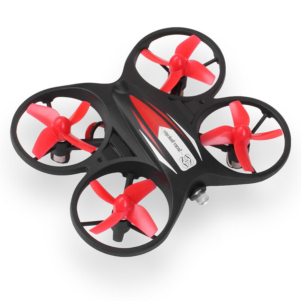 Mini LED Helicopter Remote Control Kids Quadcopter
