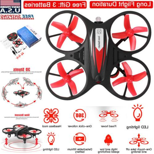 mini led rc drone helicopter remote control
