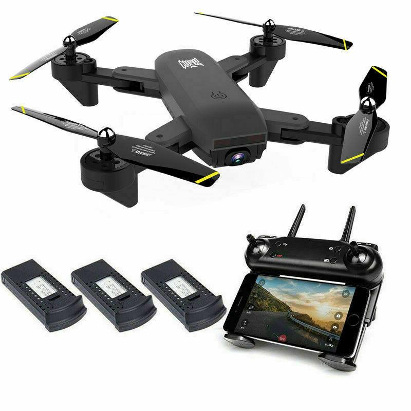 quadcopter drone with hd camera selfie wifi
