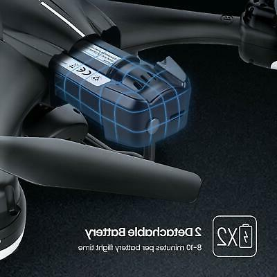 T18 HD Camera FPV Quadcopter with 2 Batteries/Case