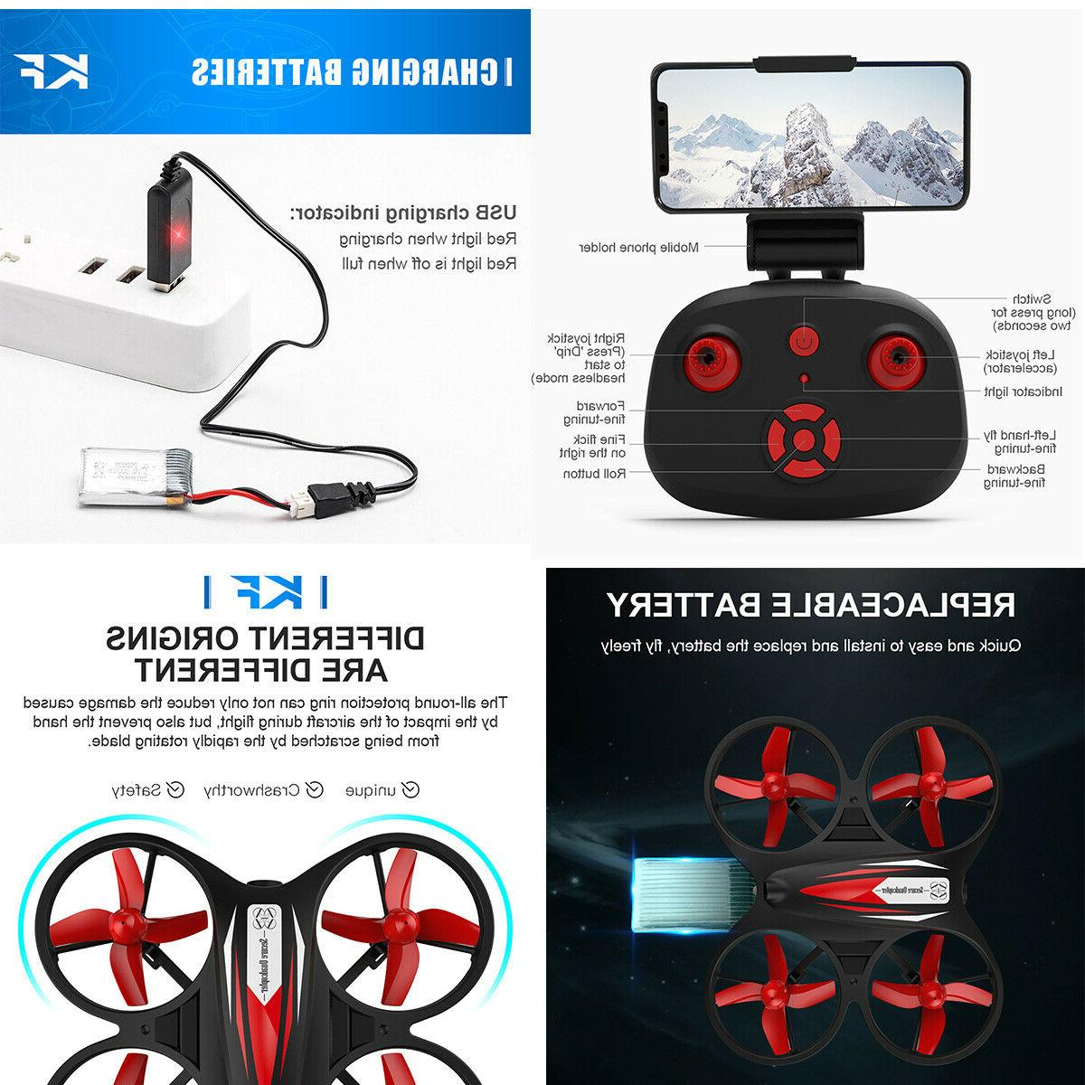 Wifi 720P HD FPV Drone Helicopter Quadcopter Control