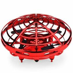 Mini Flying Helicopter UFO RC Drone Hand Sensing Aircraft El