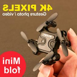 Mini Drone With Wifi FPV 720P HD Camera Foldable RC Quadcopt