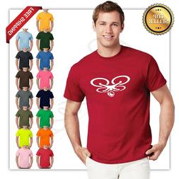 new 2019 drone logo T Shirts S-3XL 15 colors frontBack HQ pr