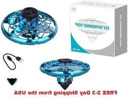 NEW Flying Mini Fidget Drone Spinner, Rotary Creative Toy St