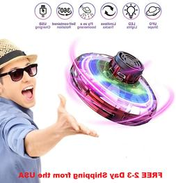 NEW Flying Mini Fidget Drone Spinner, Rotary Spinning Toy St