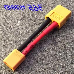 QTY- Male XT-30 to Female XT-60 Connector Adapter Turnigy Dr