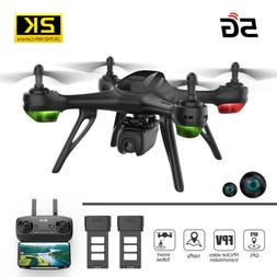 Holy Stone RC Drones GPS FPV Drone 2K HD Wide Angle HD Camer