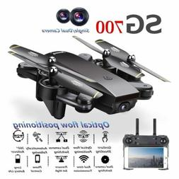 Remote & Phone Control SG700 4CH 6-Axis WIFI Drone 200W Came
