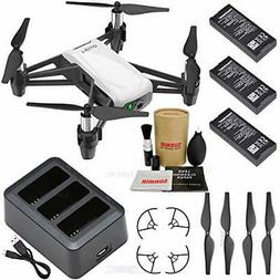 Tello Drone Quadcopter Boost Combo with 3 Batteries, Chargin