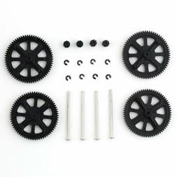 upgrade motor pinion gear gears and shaft