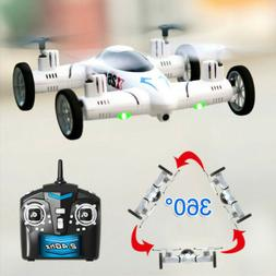 Quadcopter X25 Smart RC Flying Car Drone Aircraft 360 Flips