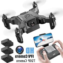 4DRC-V2 Mini Drone Selfie WIFI FPV With HD Camera Foldable A