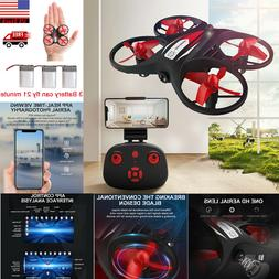 Wifi 720P HD Camera FPV Mini LED RC Drone Helicopter Quadcop