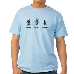 CafePress Worker, Queen, And Drone Bees T Shirt 100% Cotton